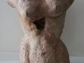 Torso ,ceramic, 40xx32x24 cms.