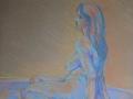 Quick Study, pastels 39x49cms.