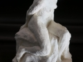 Turning- 36x16x19cm Stoneware in the style of Rodin.