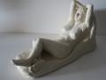 Rosa 22x35x15 cms Porcelain